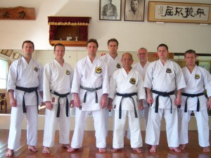 Training in Minei Sensei Dojo